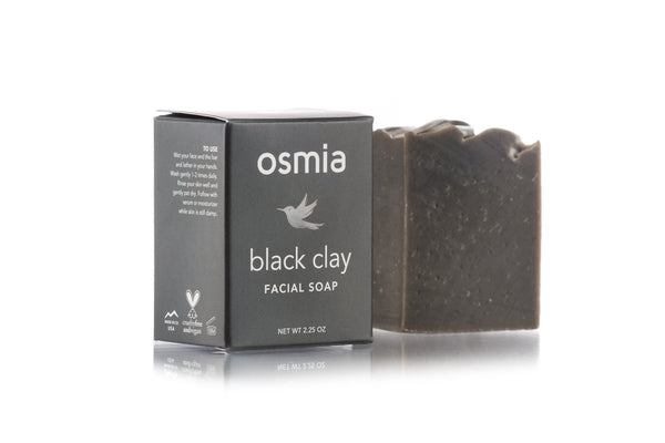 Osmia Black Clay Facial Soap
