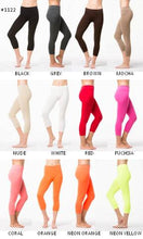 Seamless Capri Leggings One Size