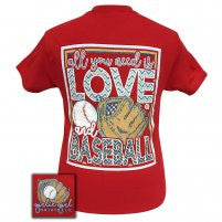 All You Need Is Love/Baseball Tee