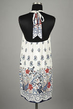 Sundress Coverup White/Navy