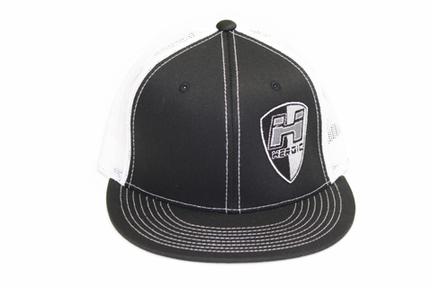 FLAT BILL - SHIELD - BLACK
