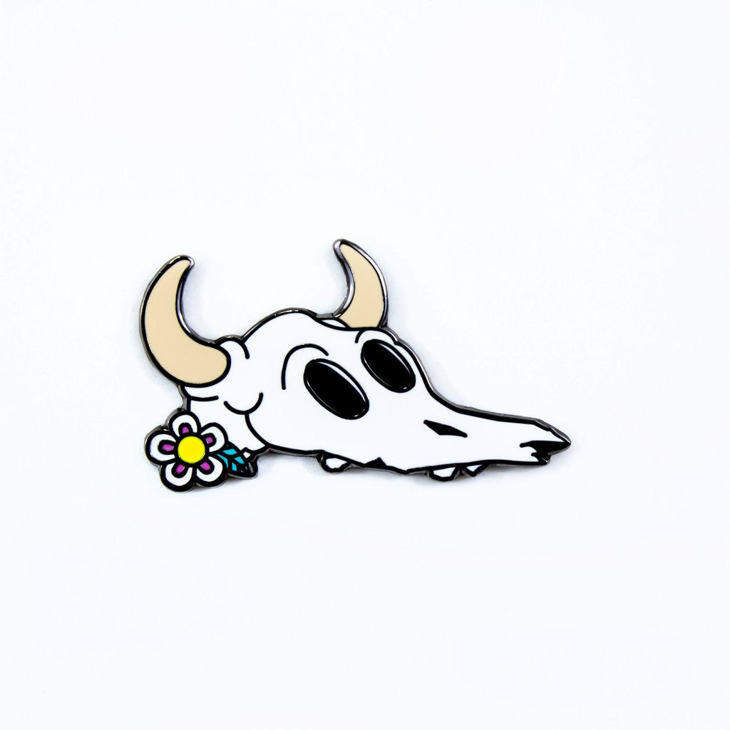 Death Valley Skull Pin