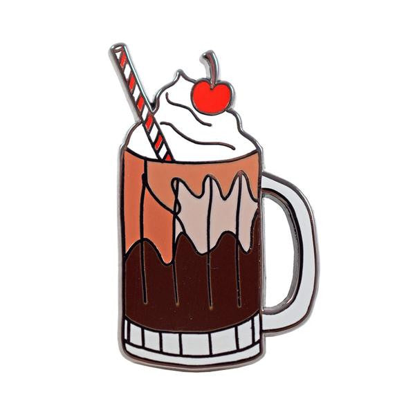 Root Beer Float Pin
