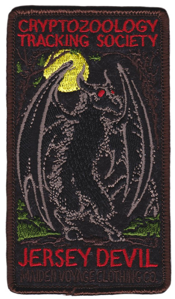 Jersey Devil Patch