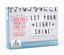 Mini Cinema Lightbox - The Gifted Online
