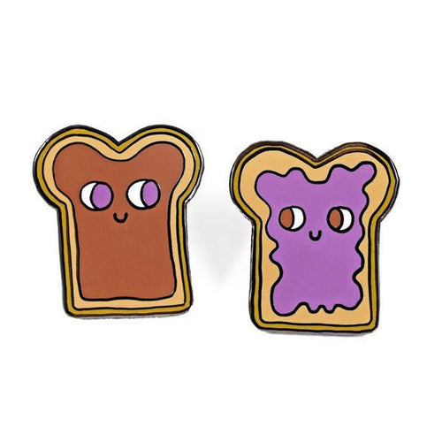 Peanut Butter and Jelly Pin