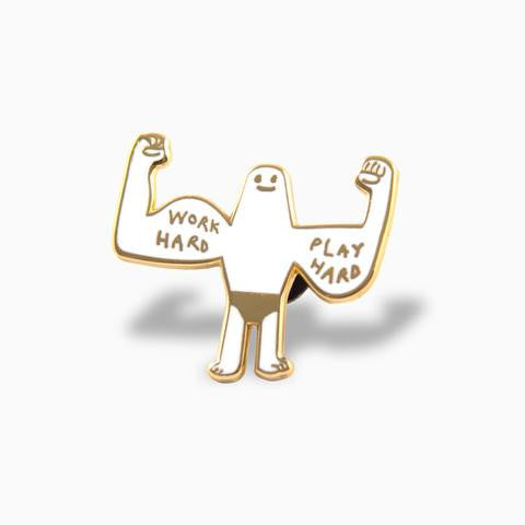Muscle Beach Pin