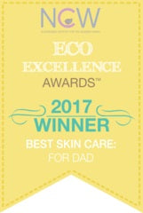 Eco excellence awards winner 2017 Best Skincare for Dad Thesis Beauty