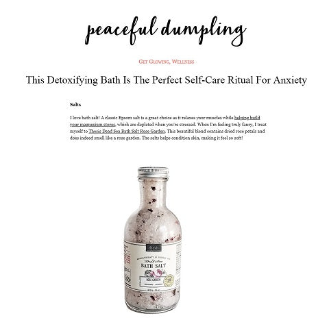 Detoxifying Bath Salts Relaxing Aromatherapy