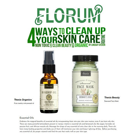 Organic safe ways to clean up your skincare routine natural clean beauty