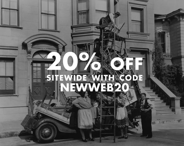 20% off coupon code NEWWEB20