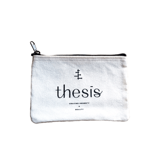 Free Travel Bag, Bag - Thesis Beauty organic, vegan, cruelty free, raw beauty