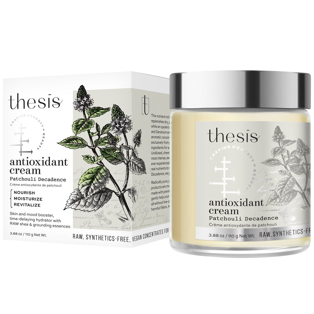 thesis organic natural antioxidant hands cream body butter Patchouli Decadence all natural nourishing revitalizing hydrator raw shea coconut vegan