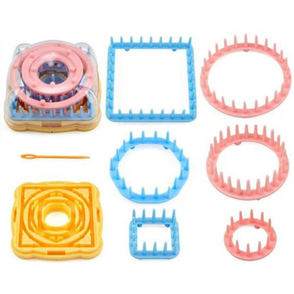 9-piece Knitting Loom