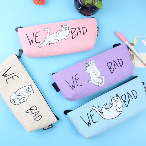 Cheeky Kitty Pencil Case