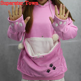 Hoodie Sweatshirt with Cuddle Pouch--Trending Item