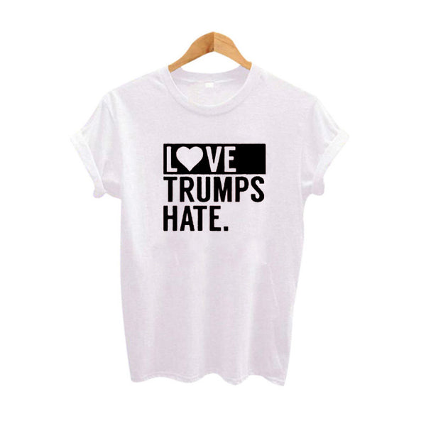 Love Trumps Hate Slogan Shirt
