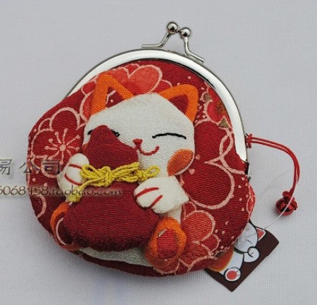 Cartoon Maneki Coin Purse