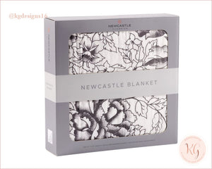 American Rose Newcastle Oversized Bamboo Muslin Nursery Blanket Kids & Babies - Girls Accessories