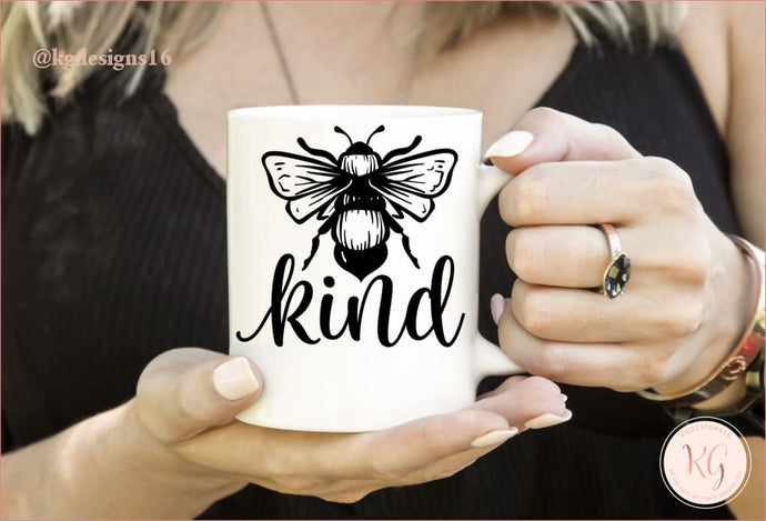 Bee Kind Kindness Ceramic Coffee Mug