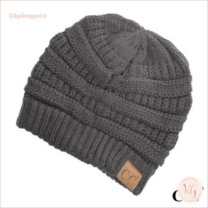 C.c. Beanie The Original Classic Knit Solid Hat