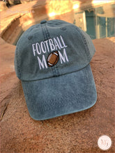 Load image into Gallery viewer, Football Mom Cotton Twill Baseball Hat