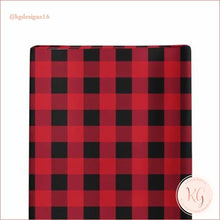 Load image into Gallery viewer, Infant Toddler Buffalo Plaid Buck Shopping Cart Cover