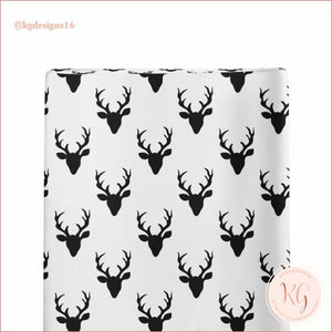 Infant Toddler Buffalo Plaid Buck Shopping Cart Cover