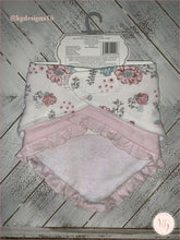 Load image into Gallery viewer, Kyle & Deena Baby Girls Floral 2 Pack Bandana Bibs