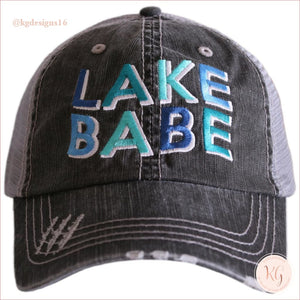 Lake Babe Baseball Trucker Hat