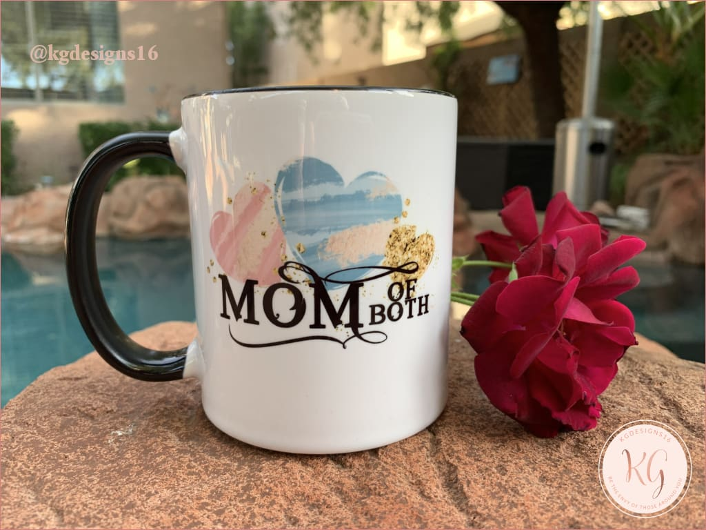 Mom Of Both Mothers Day Mug Ceramic Coffee