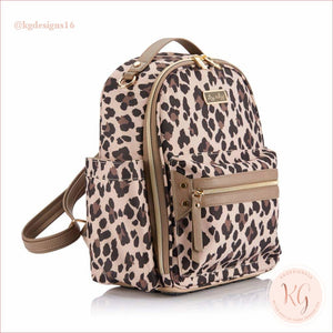 New Leopard Itzy Mini Baby Diaper Bag Backpack