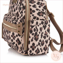 Load image into Gallery viewer, New Leopard Itzy Mini Baby Diaper Bag Backpack