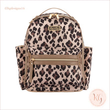 Load image into Gallery viewer, New Leopard Itzy Mini Diaper Bag Backpack
