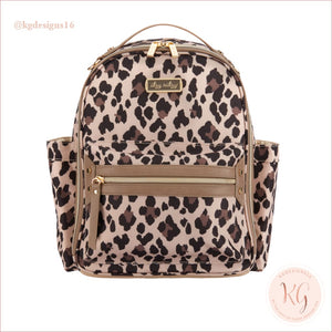 New Leopard Itzy Mini Diaper Bag Backpack