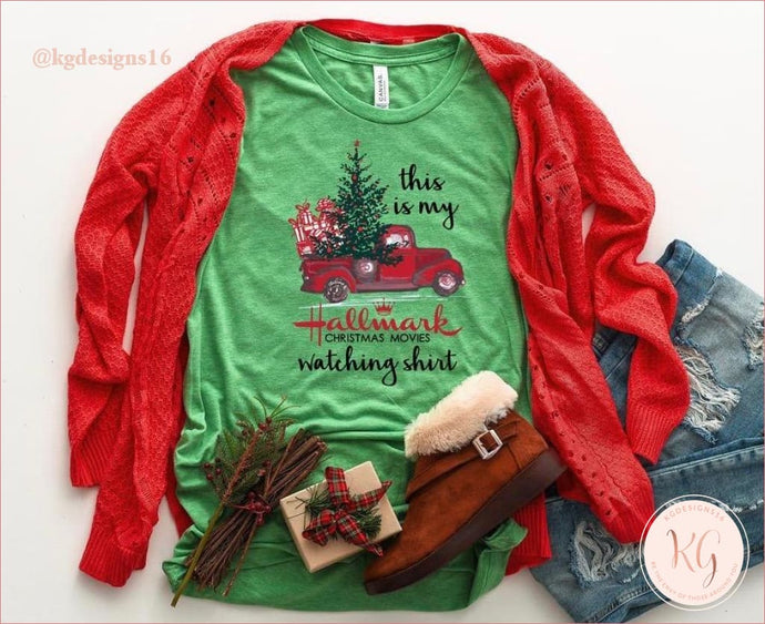 This Is My Hallmark Christmas Movie Watching Shirt Unisex T Clothing