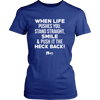 When Life Pushes You... - TShirt & Hoodie