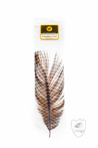 Barred Ostrich,Feathers,MONTANA FLY CO.-Confluence Fly Shop