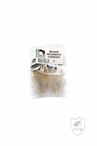 Barred Wood Duck Feathers,Feathers,HARELINE DUBBIN INC.-Confluence Fly Shop