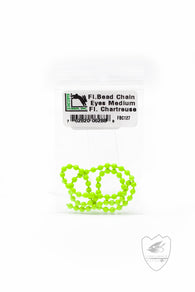 Fluorescent Bead Chain,Beads,HARELINE DUBBIN INC.-Confluence Fly Shop