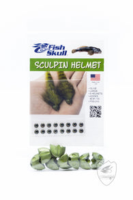 Fish-Skull Sculpin Helmet,Beads,HARELINE DUBBIN INC.-Confluence Fly Shop