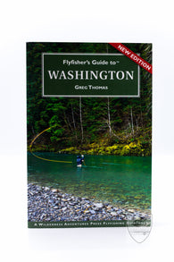Flyfisher's Guide to Washington,Books,Anglers Books-Confluence Fly Shop