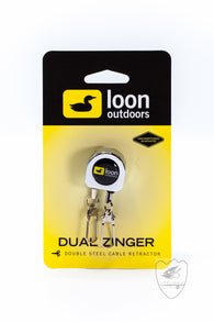 Loon Dual Zinger,Lanyard,Confluence Fly Shop-Confluence Fly Shop