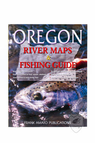 Oregon River Maps & Fishing Guide,Books,Anglers Books-Confluence Fly Shop