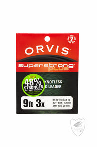 Orvis Super Strong Plus Leader 2pk,Leader,ORVIS-Confluence Fly Shop