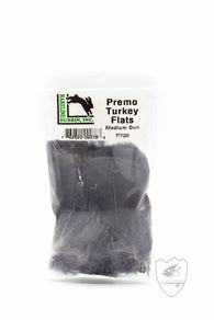 Premo Turkey Flats,Feathers,HARELINE DUBBIN INC.-Confluence Fly Shop