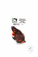 Ringneck Neck Patch,Feathers,HARELINE DUBBIN INC.-Confluence Fly Shop