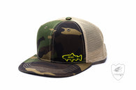 Rio Camo Trucker Hat,HATS,FARBANK ENTERPRISES-Confluence Fly Shop