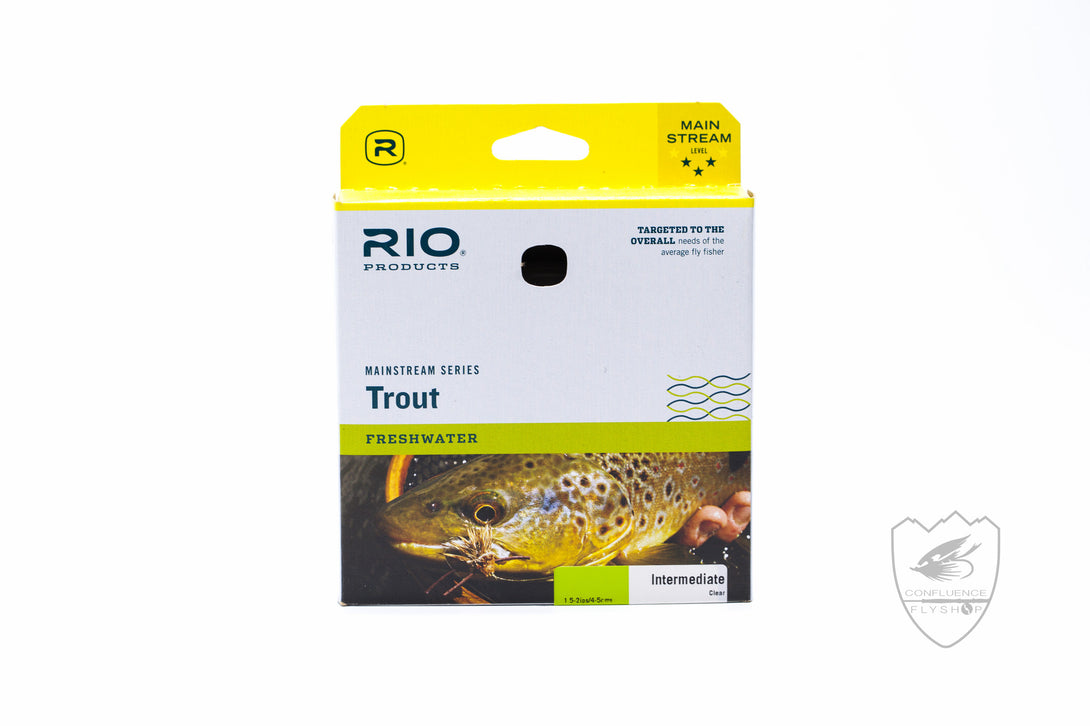 mainstream trout intermediate fly line