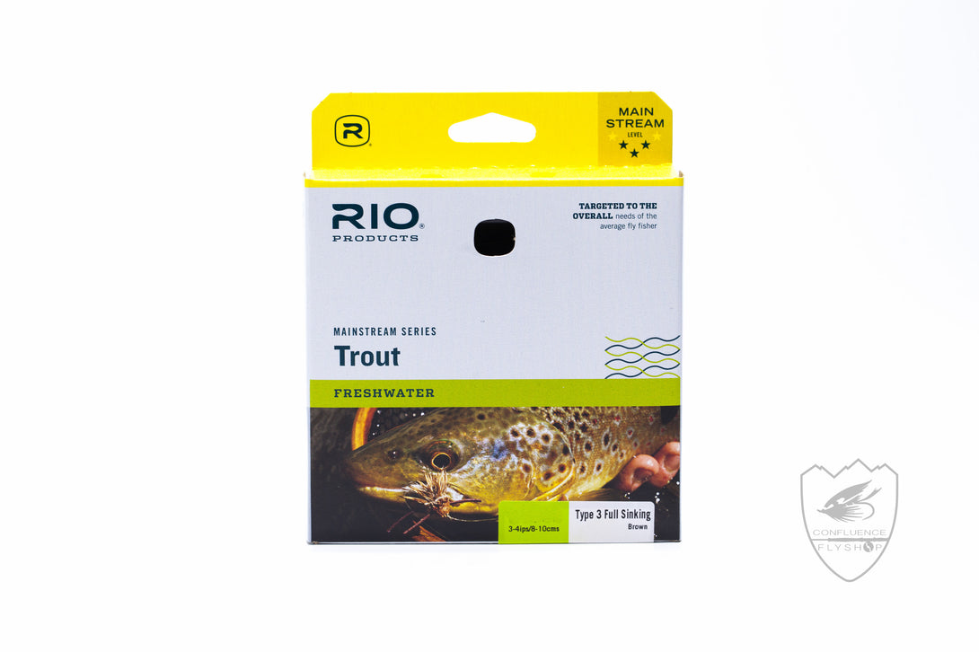 rio mainstream full sink fly line